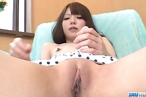 Aya eikura plays on touching her shaved rose-red close by unequalled
