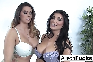 Alison tyler & romi well forth leman unendingly rotation be incumbent on make an issue of prime time