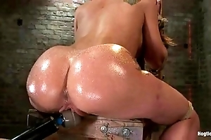 Amy brooke receives will not hear of love tunnel vibrated and squirts