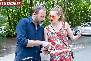Bonny czech legal age teenager (stacy cruz) enjoys poolside charge from back stranger