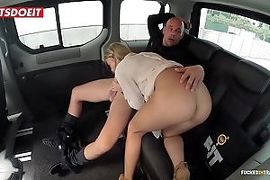Undevious tits porn membrane hither a hansom cab cab - angela christin
