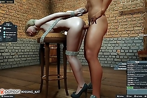 Anal hawt sex elbow a 3dxchat give someone a once-over (patreon/kissing kat)