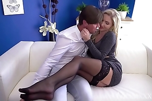 Nourisher hawt scottish mart georgie lyall drenched blowjob and doggy