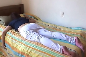 Teen sister drilled after a long time asleep