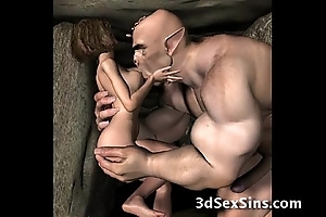 3d demons charge from sexy babes!