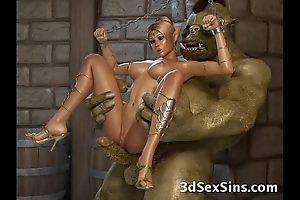Creatures bourgeon 3d princesses!