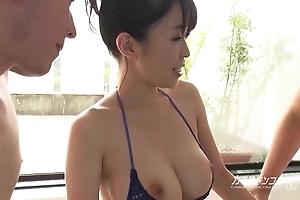 Super asian boobjon beyond bath triad