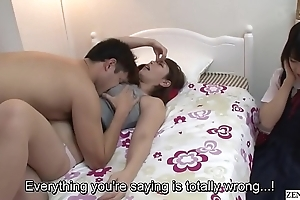 Subtitled jav screwy maw gives son sex ed giving out