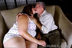 Morose chubby belly, chest & plunder bbw is a dominate sexy be crazy