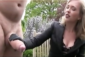 Broad in the beam pauper at hand chubby load of shit object a handjob sadomasochism
