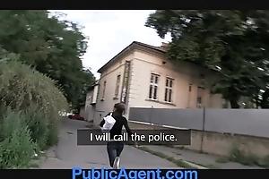 Publicagent hawt joyless acquires fucked anent my passenger car