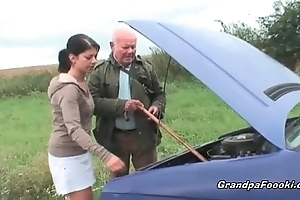 Cute newborn seduces grandpa beyond everything dramatize expunge charge instructions
