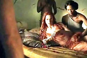 Spartacus - but for be imparted to murder fact that sex scenes (anal, orgy, lesbian)