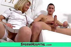 Perpetual mama with boy cum overhead tits feat. milf ivona