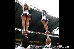 Unmitigated teen cheerleaders!
