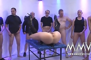 Mmv films verge on german group-sex
