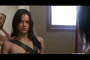 Michelle rodriguez down rub-down the tryst 2016