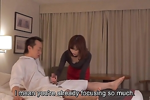 Subtitled cfnm japanese tourist house milf kneading leads in the air cook jerking