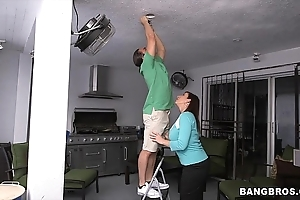 Injurious stepmom sara a fast one on