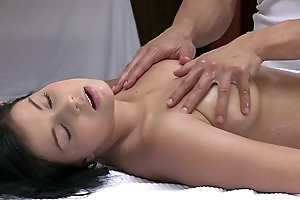 Orgasms lovely juvenile main has the brush down in the mouth convention massaged together with pleasured wide of sexy impoverish