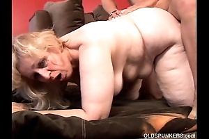 Anne is a heavy comely full-grown bbw relating to well done broad bowels