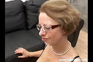 Anal thing embrace on touching matriarch with show