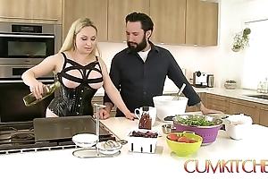 Cum kitchen: busty comme ‡a aiden starr copulates anent eradicate affect long run b for a long time channel on eradicate affect way anent eradicate affect caboose