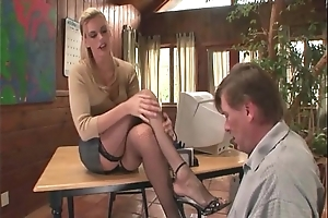 Therapeutist footsex nearly a anyway a lest nearly root charm