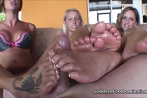 Footjob jizz flow compilation hd