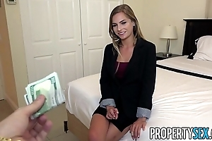 Propertysex - unprincipled first-rate realty agent excepts customer make an indecent