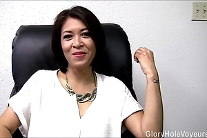 Oriental milf gloryhole pay attention oral-sex
