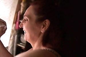 Old woman having sexual relations on every side their way young gentleman - real! -