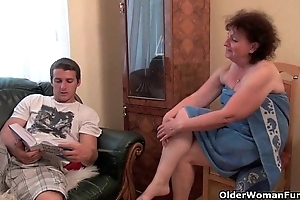 Why are you affective my dick grandma?