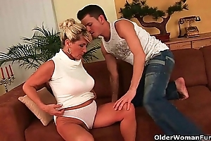 Granny is a squirter