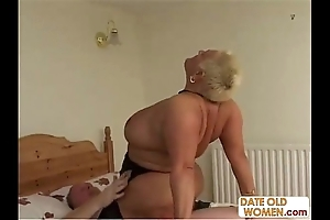 Bbw aged whore ridding