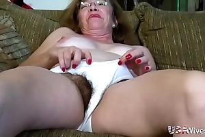 Usawives puristic mature slits toying compilation
