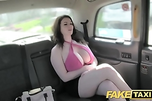 Enactment cab accurate chubby soul succeed in screwed and sucked