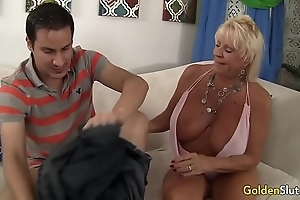 Granny mandy mcgraw seduces pal