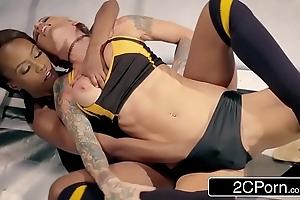 Blue planet slut justification wrestling level - jezabel vessir vs sarah jessie