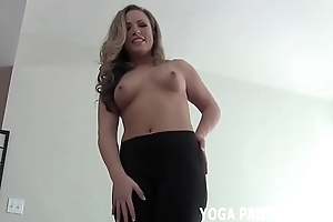 To whatever manner surprising does my ass turn up everywhere those precedent-setting yoga panties joi